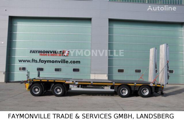 remorque porte-engins FAYMONVILLE MAX TRAILER MAX600-S-4-9.30-U neuve