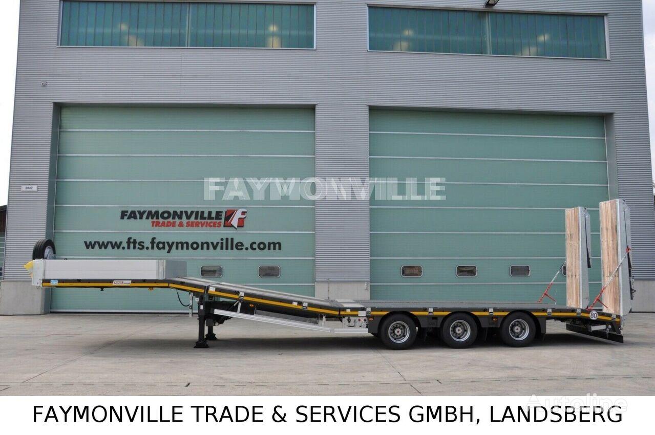semi-remorque porte-engins FAYMONVILLE Satteltieflader MAX100-N-3B-9.30-U neuf